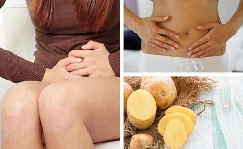 Livsmedel och huskurer för hemorrojder