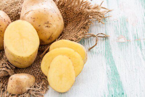 Potatis minskar svullnad och sveda