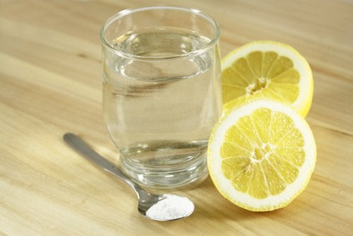 Citron och saltvatten