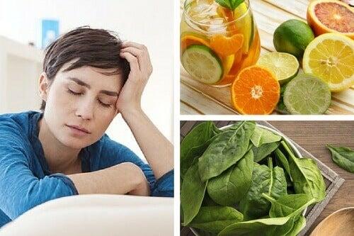 Vitaminbrister som kan göra dig trött
