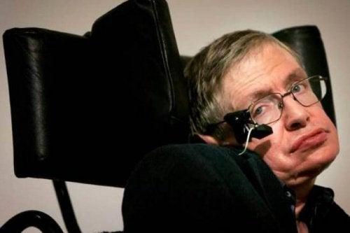 Stephen Hawking talar till deprimerade