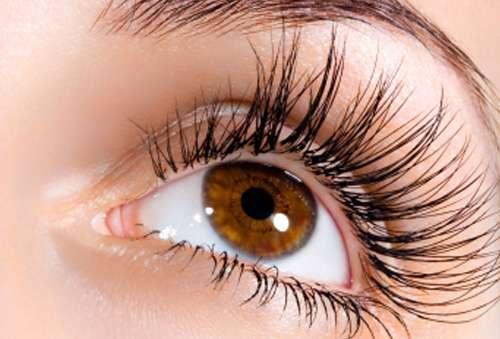 Vackra ögonfransar