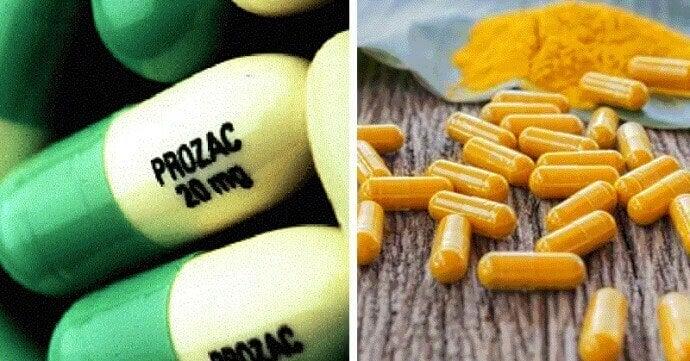 Fördelar med gurkmeja kontra 7 läkemedel