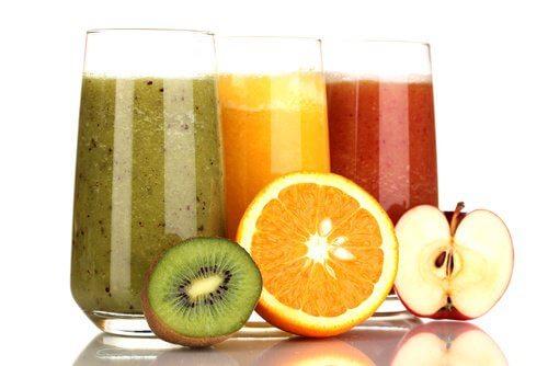 juice på frukt