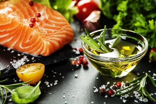 Lax innehåller omega 3