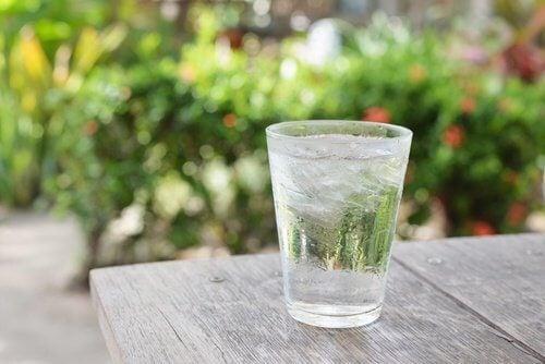 Drick vatten på fastande mage