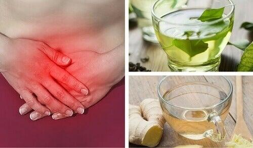 De 8 bästa teerna mot gaser i magen