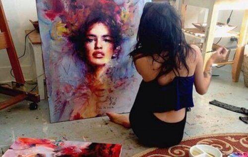 1-målning