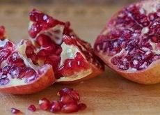 granatäpple i halvor