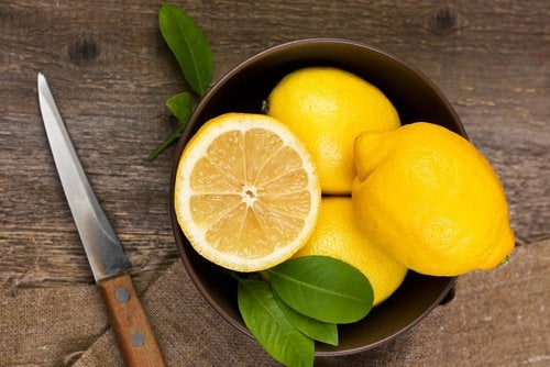 Uppskuren citron