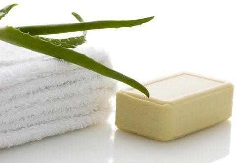 Aloe-vera-tvål