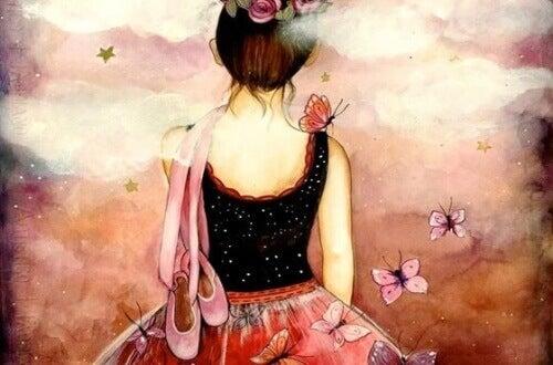 Ensam-kvinna