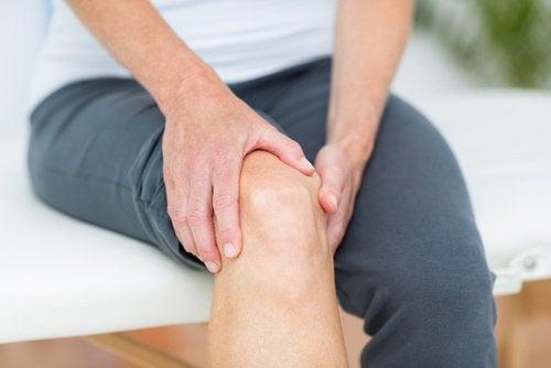 Muskelsmärta i benet