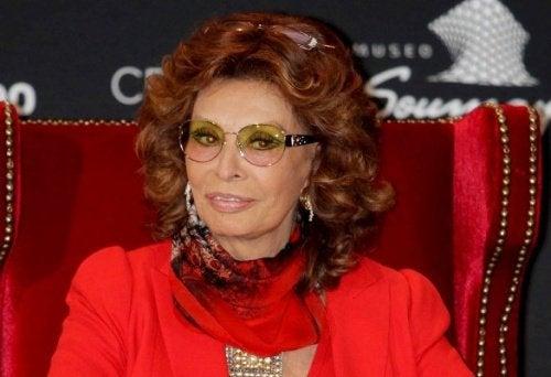 Skönhetsikonen Sophia Loren