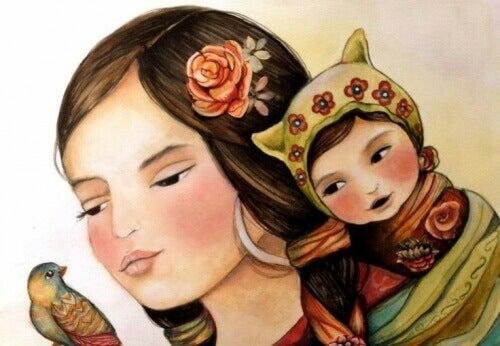 Lär barn lycka, inte perfektionism