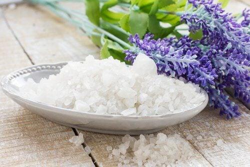 Salt och lavendel