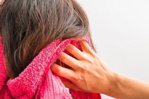 Tvättat hår
