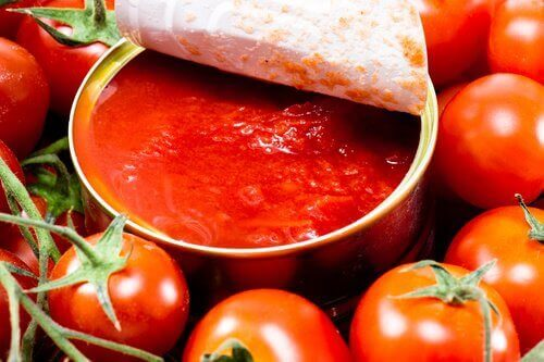 tomater i burk