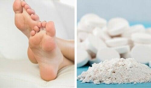 Använd aspirin för att slippa förhårdnader