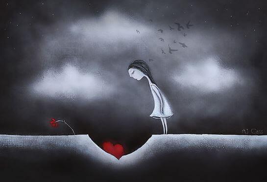 begravt hjärta