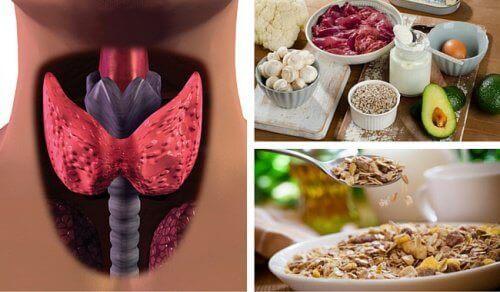 Bekämpa hypotyreos: livsmedel som ökar metabolismen