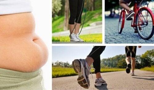 7 övningar för effektiv viktnedgång