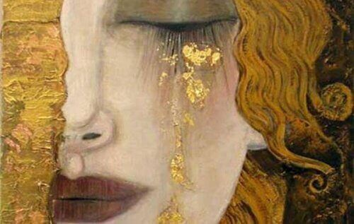 Gråtande-kvinna