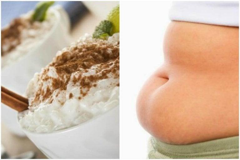Ät rispudding när du vill gå ner i vikt