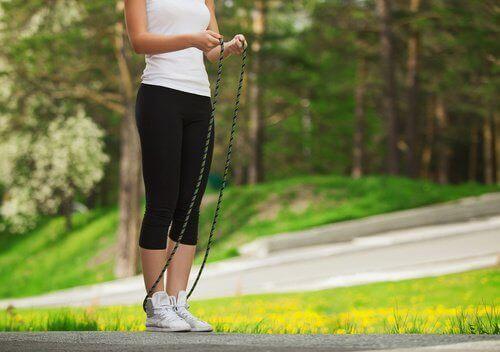 Hoppa hopprep för effektiv viktnedgång