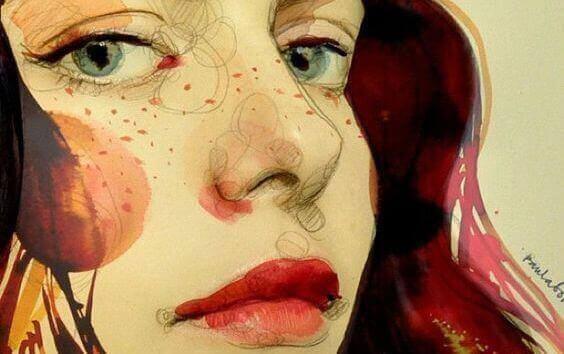 malad-kvinna