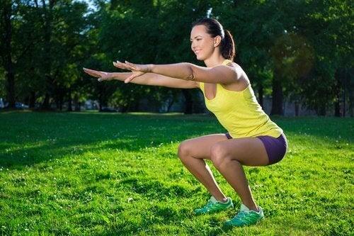 6 övningar för att bekämpa slappa ben
