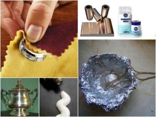7 trick för att rengöra silver hemma