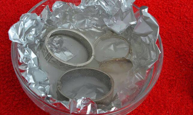 putsa silversmycken hemma