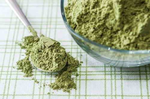 vegetabiliskt pulver