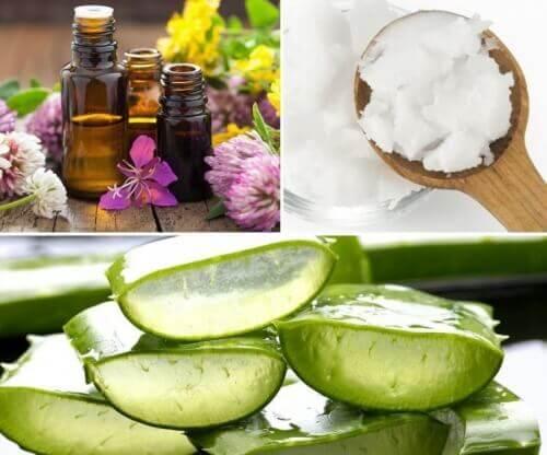 Naturlig hudkräm för bristningar, brännskador & hudfläckar