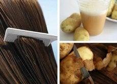Dölja gråa hårstrån