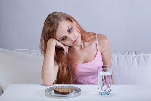 Kvinna utan aptit