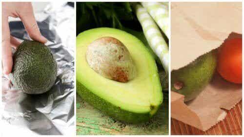 5 trick för att mogna avokado snabbt