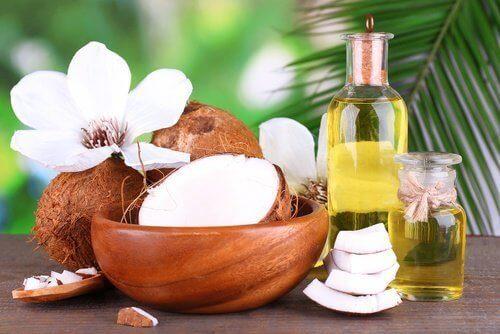 kokosolja för håret