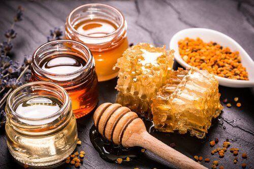 kur med honung