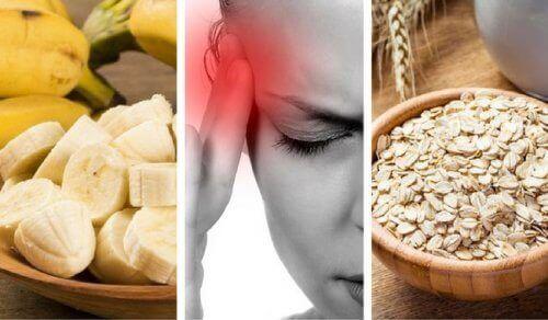 9 livsmedel mot trötthet och huvudvärk