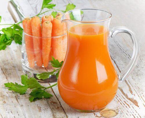 näringsinnehåll i morötter