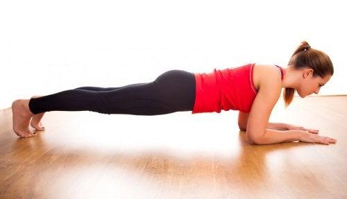 5 fördelar med att utföra övningen plankan varje dag