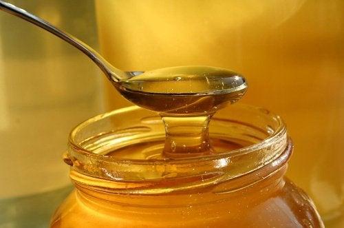 honung läker sår
