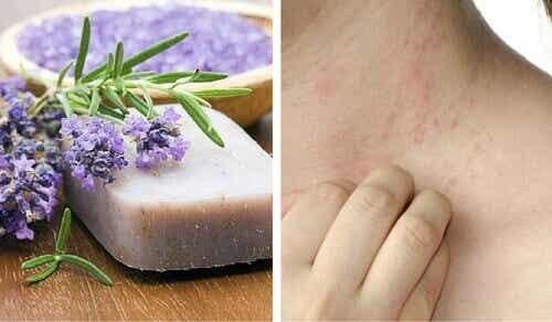 Hemgjord specialtvål för känslig hy och dermatit