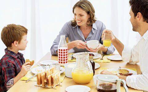 Ät frukost