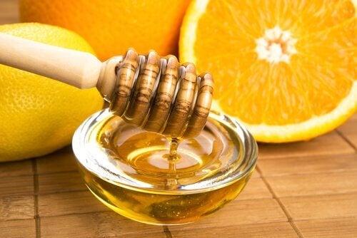 honung och apelsin