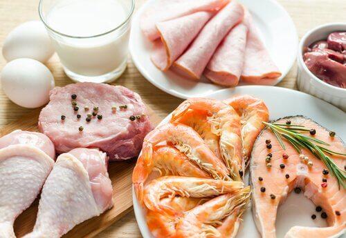 Inkludera vissa livsmedel i kosten