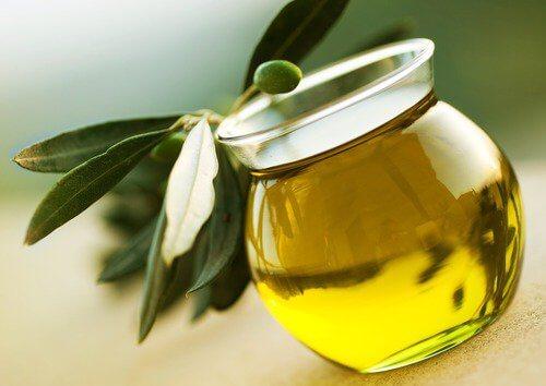 olivolja i burk