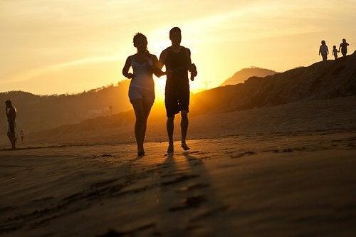 Joggande par